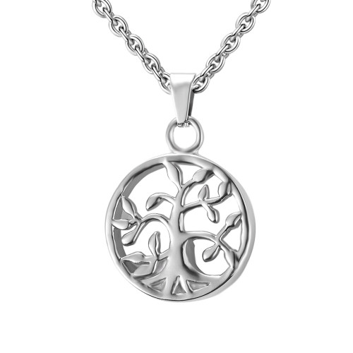 Tree Of Life Cremation Urn Necklace