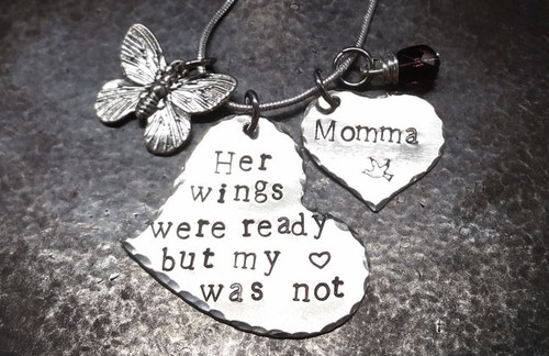 Her Wings Were Ready All Silver