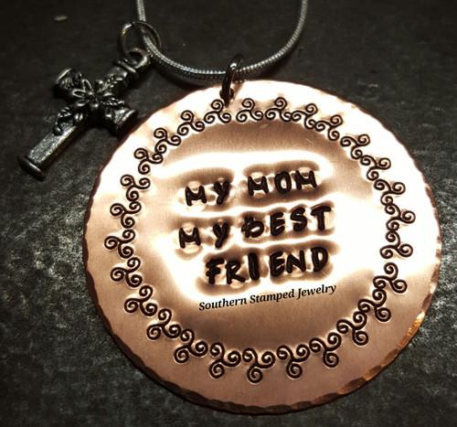 My Mom, My Best Friend Copper Circle
