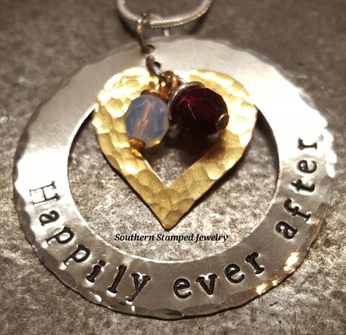 Happily Ever After Heart And Washer