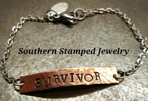 Survivor Bar Bracelet