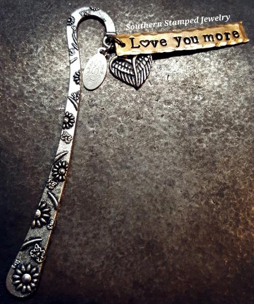Silver Bookmark w/ Bronze Bar