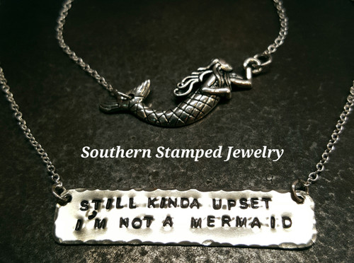 Not A Mermaid Layering Necklaces
