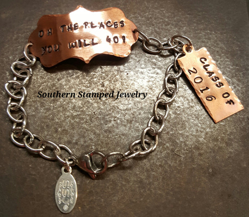 Oh the Places You Will Go Bracelet