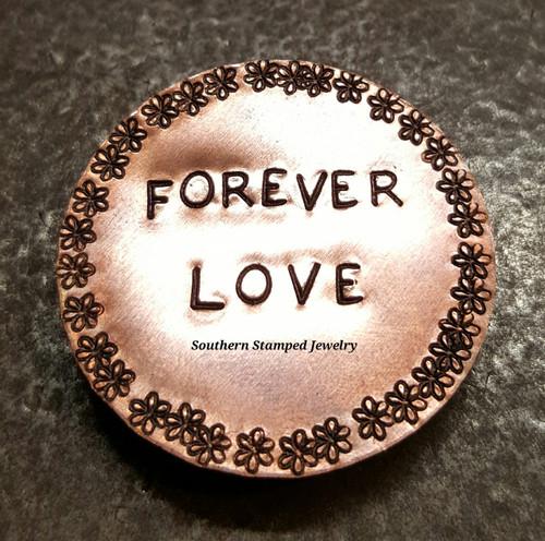 Copper Circle Magnet