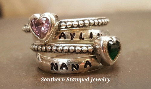 Stackable Mother Rings Set