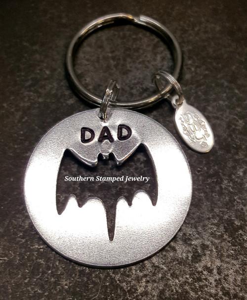 Batman Circle Key Chain
