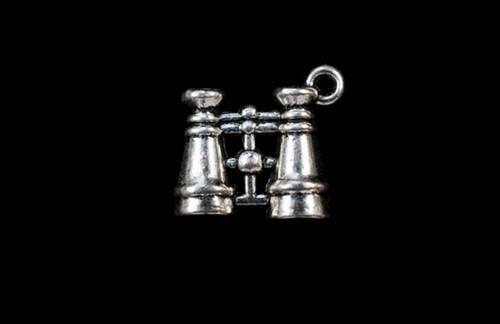 Binoculars Jewelry Charm