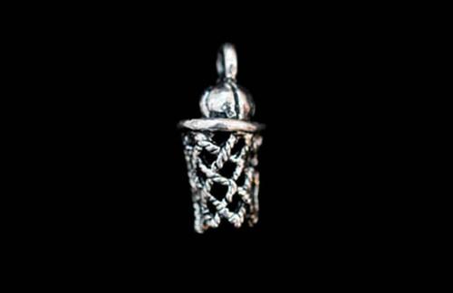 Basketball Hoop Jewelry Charm