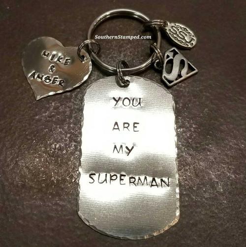 Superman Key Chain