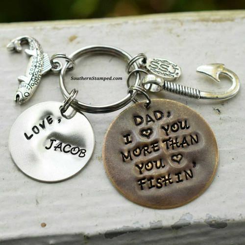 Dad, I Love You More Than You Love Fishin'