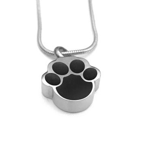Paw Print Pet Urn For Ashes