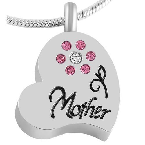 Mother Flower Urn Necklace