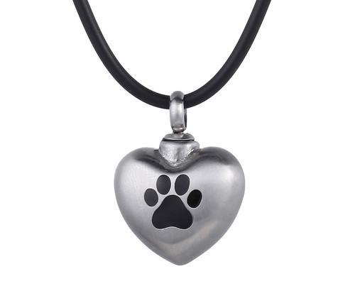 Dog Paw Urn Pendant