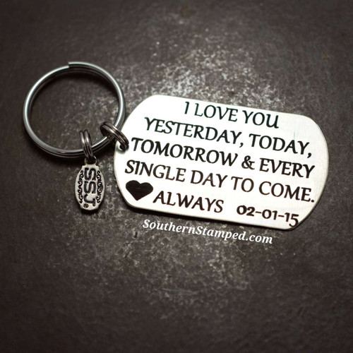 I Love You Always Perfect Valentines Day Gift For Your Loved One