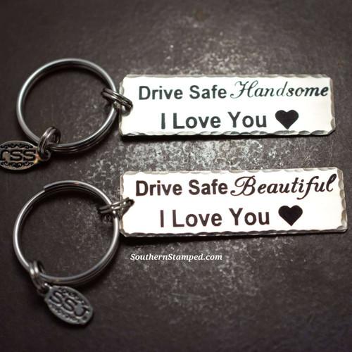 Drive Safe Key Chain Set