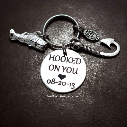 Hooked On You Key Chain