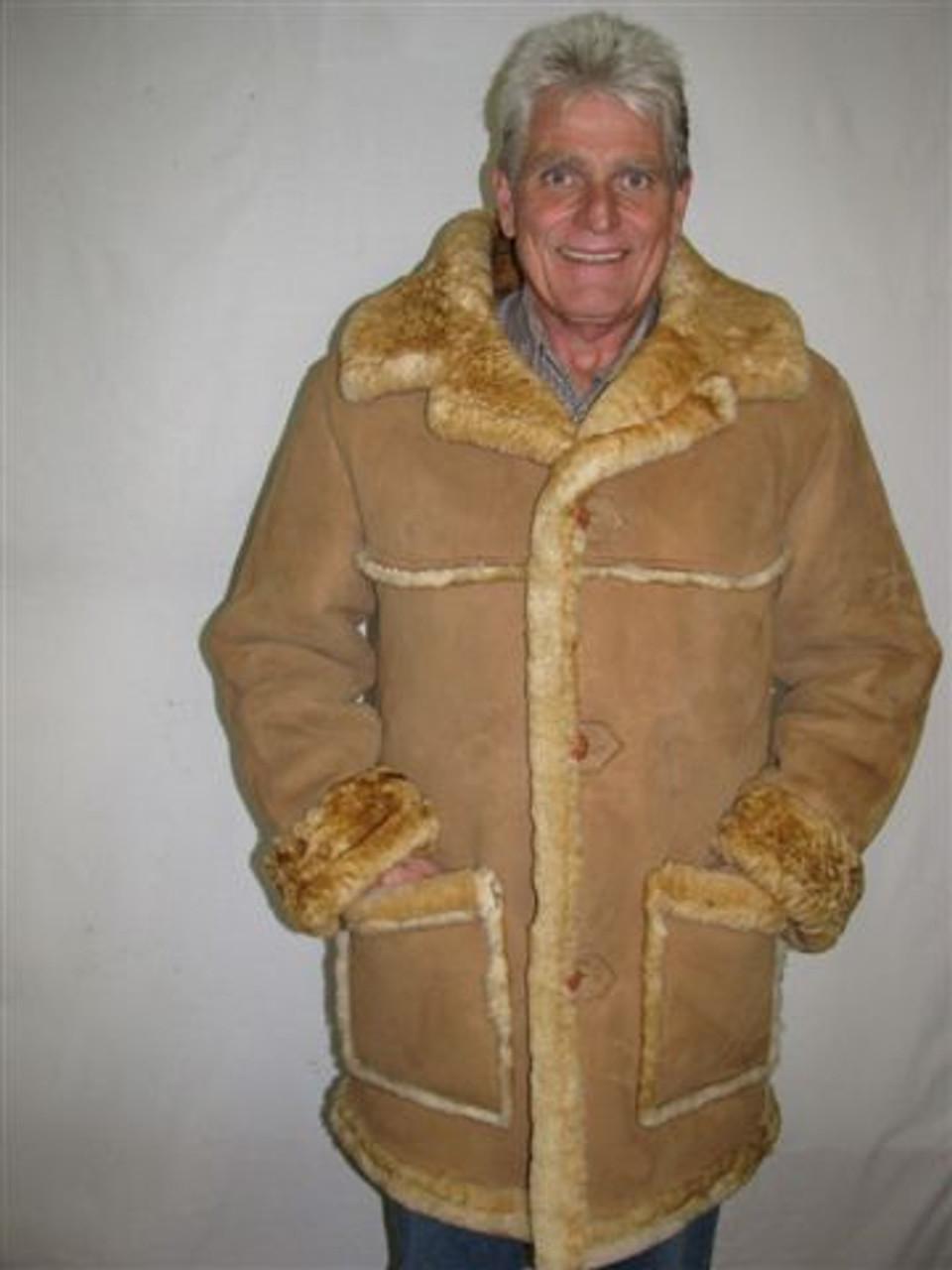 Mens Sheepskin Coat >> Laredo Sheepskin Coat Mens