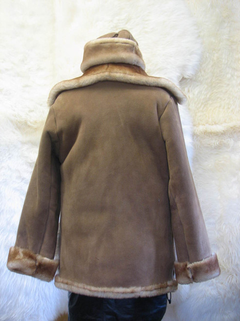 Sheepskin Marlboro Coat Ladies back
