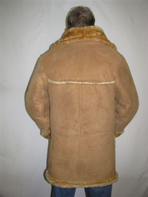 Laredo Sheepskin Coat back