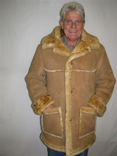 Laredo Sheepskin Coat front