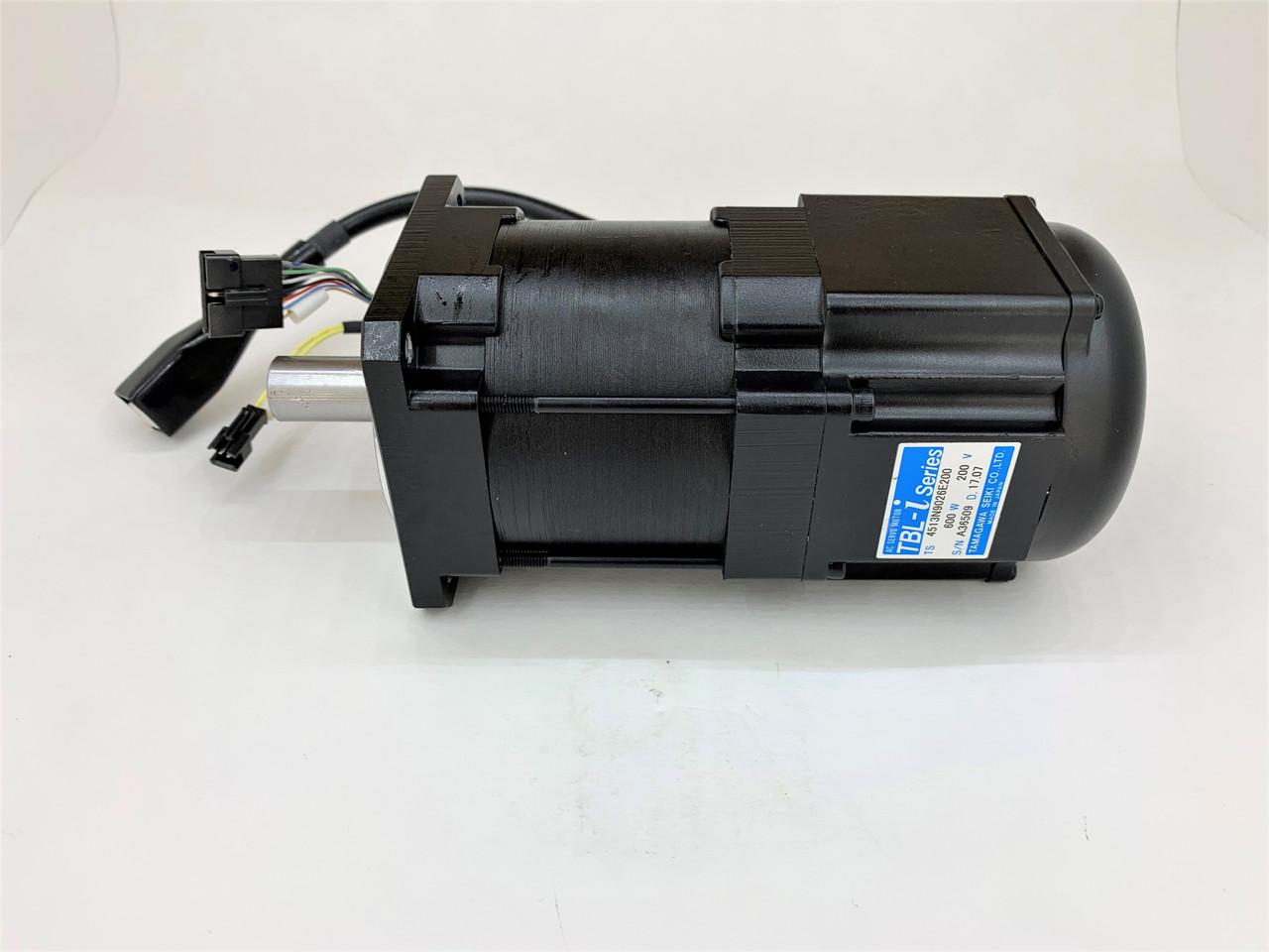 Servo Motor  Yamaha Robot 600 Watt Series