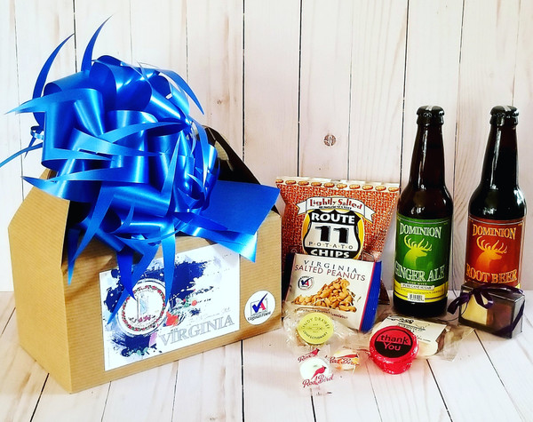 Virginia's Finest Gift Box  - Rush / Same Day Delivery