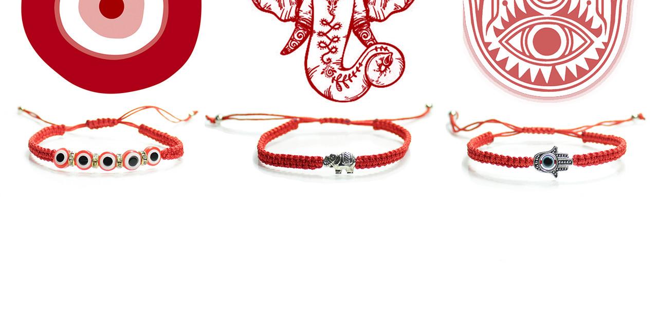 Red String Kabbalah Bracelet Handmade