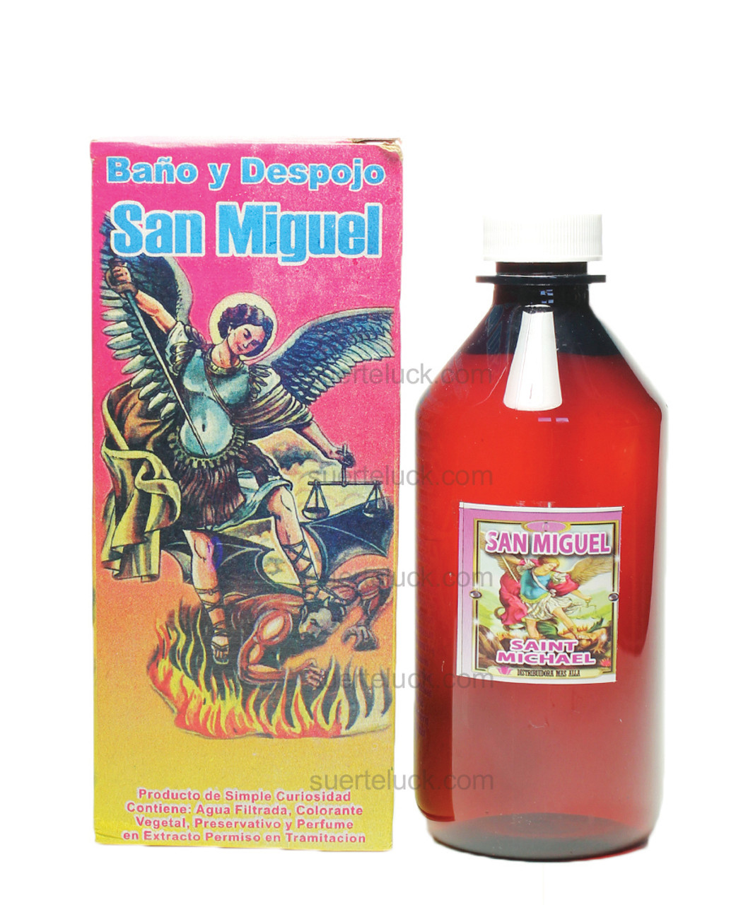 Spiritual Bath Saint Michael- Baño Espiritual San Miguel