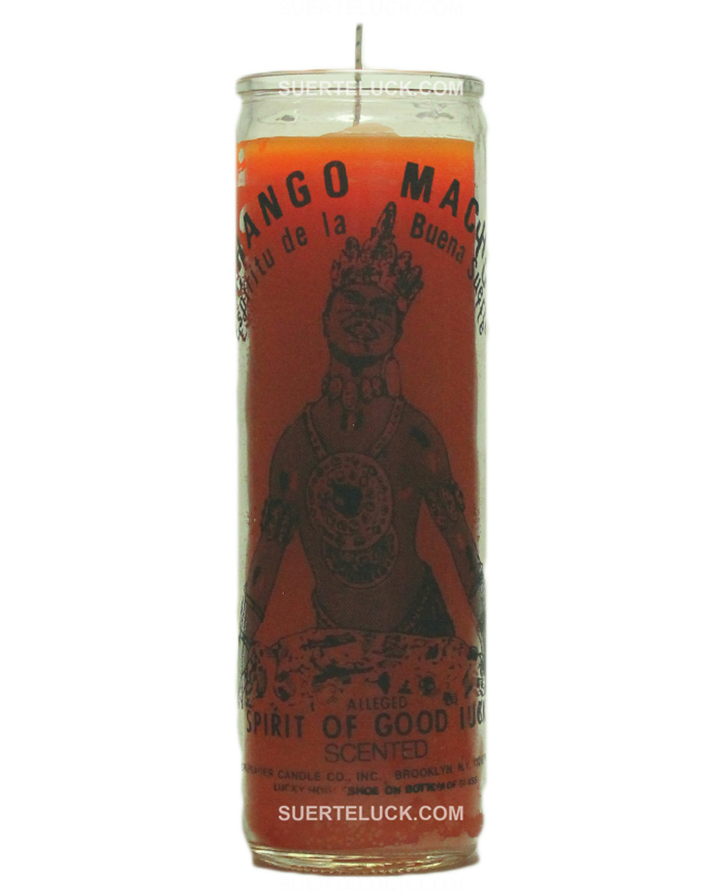 Chango Macho Scented Spiritual Candle -Vela De Chango