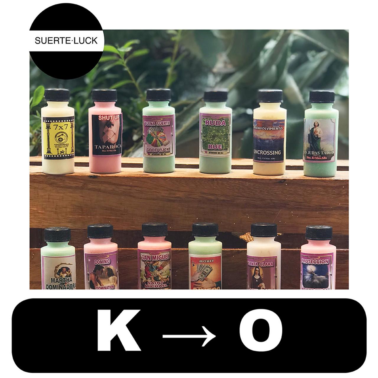 3  K - O Spiritual Powders - Polvo Espiritual