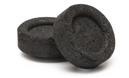 Saint Michael Charcoal briquettes.  carbon san miguel