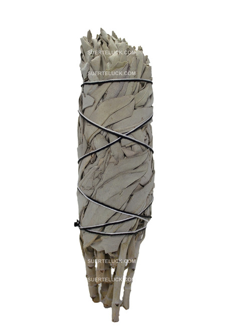 Medium size Sage smudging stick, perfect for home energy cleansing.