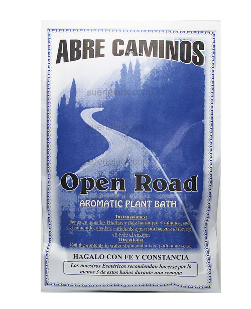 Open Roads Prepared Herbs  Aromatic Plants Open Roads Plantas en Sobre Abre Camino Spiritual Plants in Envelopes