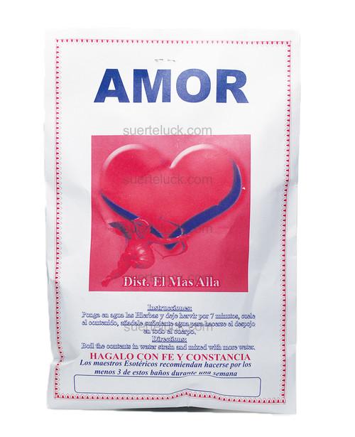Spiritual Love Herb Bath  Baño de Plantas Amor  Spiritual Plants packaged in a white envelope
