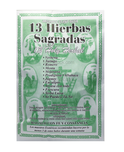 13 Holy Herbs Bath  Baño 13 Hierbas Sagradas