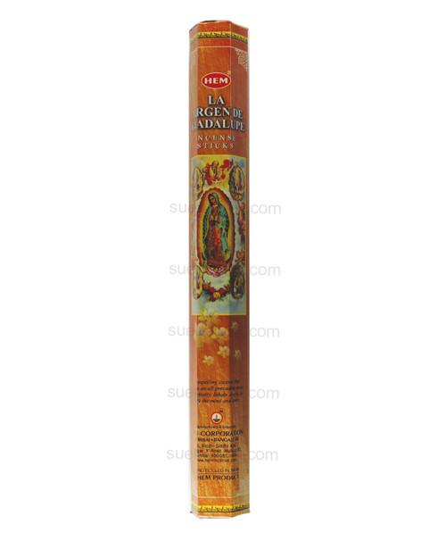 Incense Sticks Virgin of Guadalupe Incienso Virgen de Guadalupe  Handrolled incense