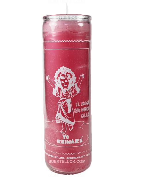 Spiritual Candle Divino Niño Pink saint candle