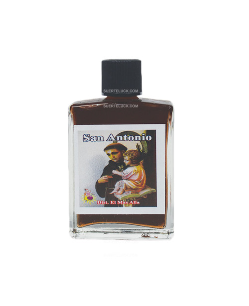 Perfume Saint Anthony  Perfume San Antonio 1 ounce square glass bottlo