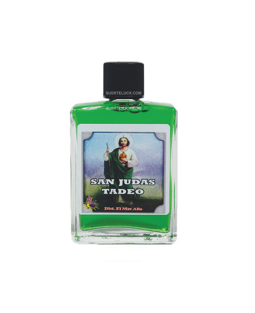 Spiritual Perfume Saint Jude  1 ounce square glass bottle