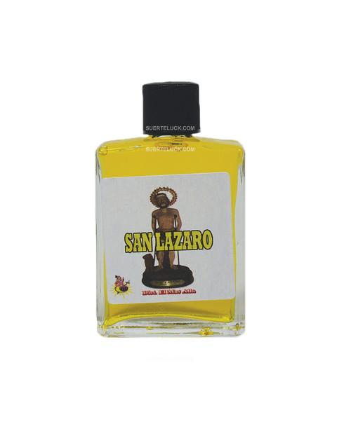 Spiritual Perfume Saint Lazarus 1 ounce square glass bottle