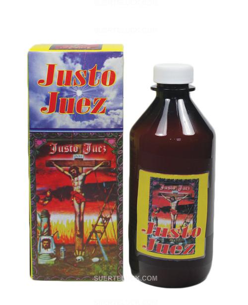 Spritual bath Justo Juez  8 ounce brown bottle Justo Juez box