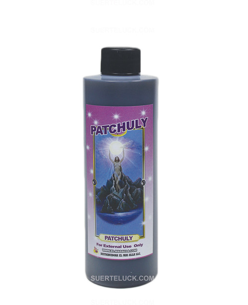 Spiritual Bath Patchuly  8 ounce plastic bottle
