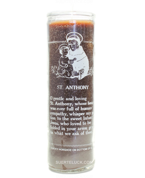 Saint Anthony Church Candle  Crusader Candle