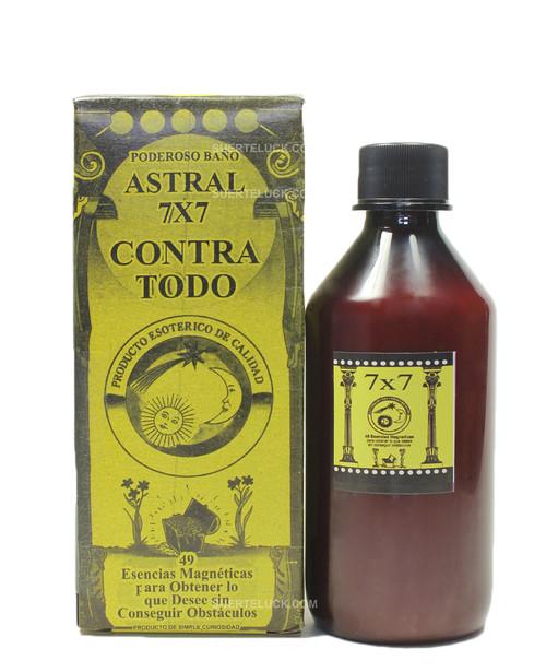 7x7 Against All Spiritual Bath  Bottle  Packaging