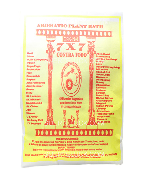 7x7 Against All Spiritual Herb Bath
