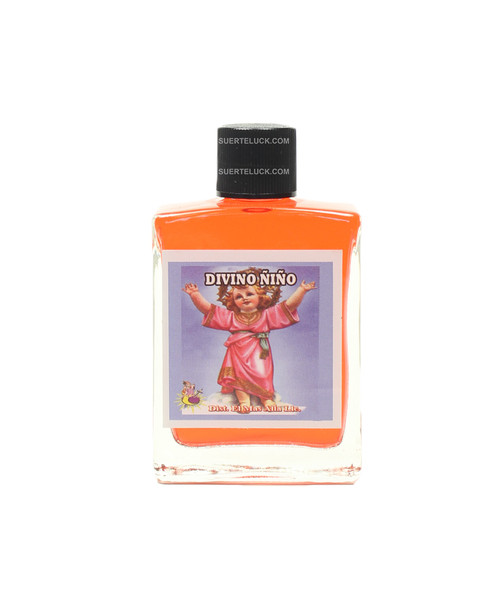 Spiritual Perfume Divino Niño 1 ounce square glass bottle