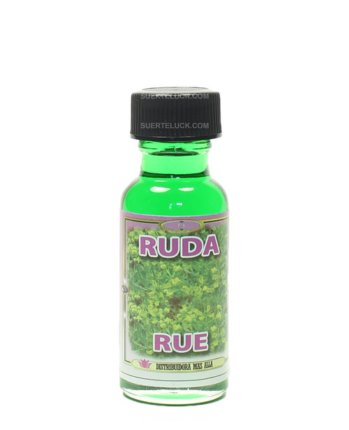 Spiritual oil Ruda  1 ounce round glass