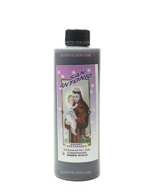 Spiritual bath Saint Anthony  8 ounce plastic bottle