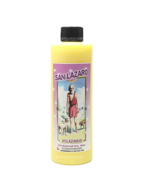 Spiritual Bath Saint Lazarus 8 ounce plastic bottle